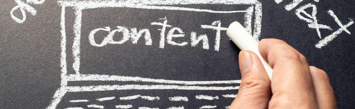 sviluppo contenuti sito web